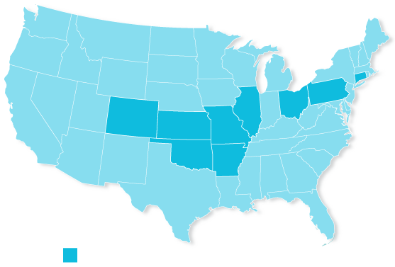 Clearwater Services Locator Map